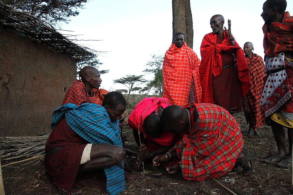 making of maasai men Filmed in the rift valley, kenya, film essays of maasai life includes a series of six   practiced by both men and women, traditionally, the men making spears and.